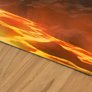 Elemental playmat