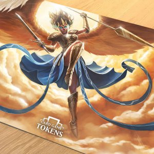 Angel playmat
